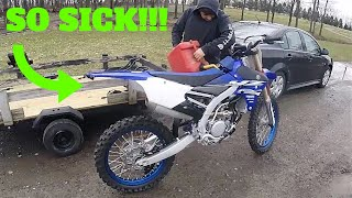 5. He Bought A Brand New 2018 YZ250F Dirt Bike! | First Ride