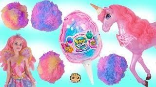 Video Cotton Candy Surprise Blind Bag Pikmi Pop Pets ! Barbie Fairy Princess MP3, 3GP, MP4, WEBM, AVI, FLV Oktober 2018
