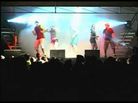 Banda Energia Positiva - Show da Virada 2009/2010 - em Carvalhópolis / MG
