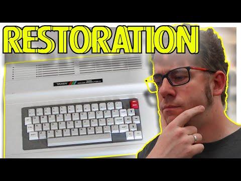 Tandy TRS-80 Color Computer 3 restoration (2016)