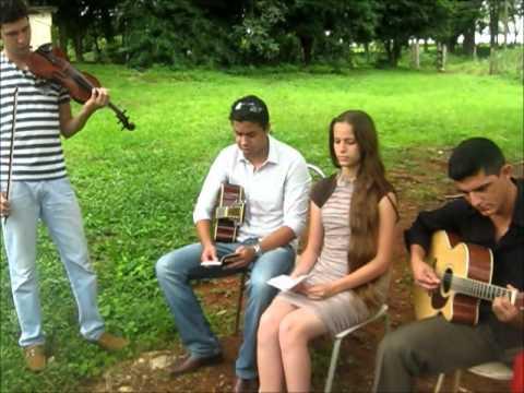 Hino 101 - Bruna & William / part. Dante (violino) e Moisés (violão)