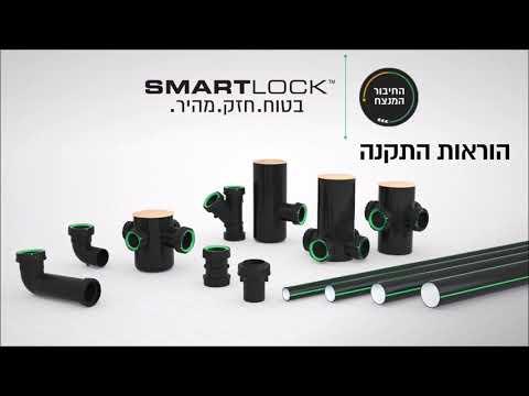 SmartLock - הוראות התקנה עברית