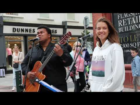 "UNIQUE voice stops people on the street | ""All I Ask"" by Adele 