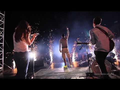 Финальная песня на закрытии фестиваля Aktau Open Fest 2013