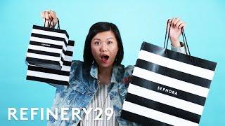 Video $1000 Ultimate Sephora Shopping Haul | Beauty With Mi | Refinery29 MP3, 3GP, MP4, WEBM, AVI, FLV Januari 2018