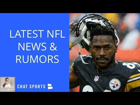 NFL Rumors: Antonio Brown Trade To Packers, Jameis Winston Trade, Tom Brady Divorcing Bill Belichick (видео)