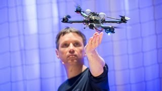The Astounding Athletic Power Of Quadcopters - Wow!