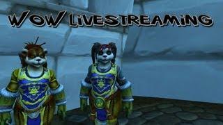 World Of Warcraft Livestreaming: Leveling Panda's