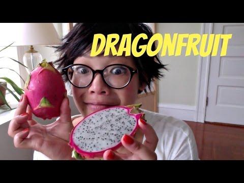 Tasting  Dragonfruit