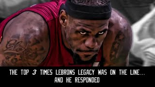 Video The top 3 times Lebron's legacy was on the line...and he responded MP3, 3GP, MP4, WEBM, AVI, FLV Mei 2019
