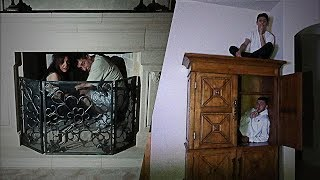 SCARY HIDE AND SEEK IN THE DARK!! (NEW HOUSE)