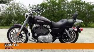 10. Used 2007 Harley-Davidson XL1200L Sportster 1200 Low for sale