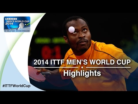 Cup - Review all the highlights from the MATSUDAIRA Kenta vs ARUNA Quadri Qual Groups first stage table tennis match at the2014 Men's World Cup in Düsseldorf, GERMANY Subscribe here for more ...