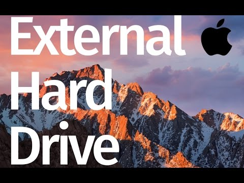 How to Format External Hard Drive on Mac - compatible with Windows, Mac, Time Machine
