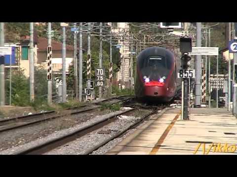 Italo NTV Milano-Roma No Stop 9975+9974 @ Firenze Statuto 28-8-2012