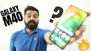 Samsung Galaxy M40 Exclusive First Look 🔥🔥🔥