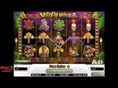 Incredible £400 Win - Free Games Bonus - Voodoo Vibes Online Slots Review