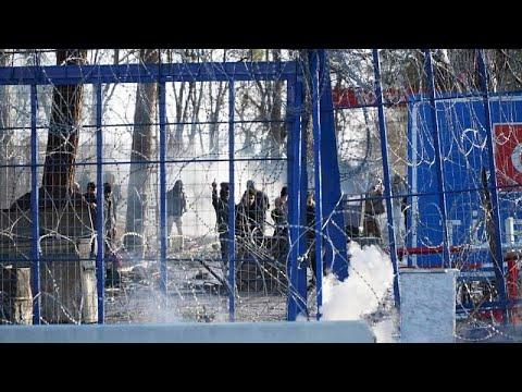 Νέα επεισόδια στις Καστανιές: Συνεχείς ρίψεις χημικών από την τουρκική πλευρά…