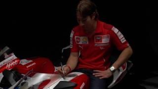 10. Ducati Nicky Hayden Edition 848 behind the scenes photoshoot