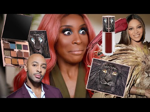 The LION KING Makeup Collection: Worth The Hype?!   Jackie Aina