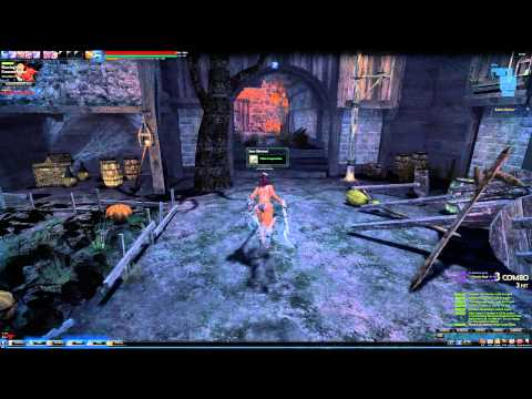 Vindictus Vella gameplay 2014 HD No armor/Naked