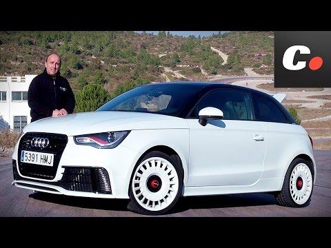 Audi A1 Quattro en circuito – Prueba / Test / Review Coches.net