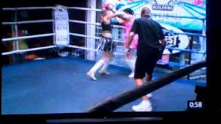 Wolf Pack Stables Kimi Law 2nd Fight Round 2