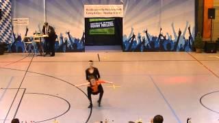 Katrin Pfundstein & Elias Vogt - Nordbayerische Meisterschaft 2015