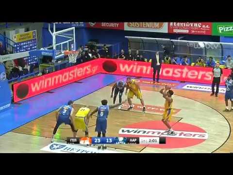 Basket League 2019-2020: ΠΕΡΙΣΤΕΡΙ – ΛΑΡΙΣΑ   30/11/2019   ΕΡΤ