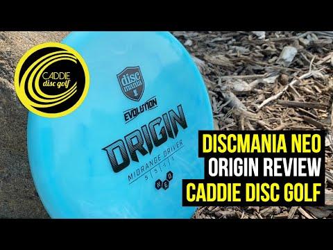 Discmania Neo Origin Review   Caddie Disc Golf
