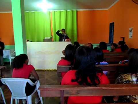 Ev. Jônatas ministrando em Paracatu- MG