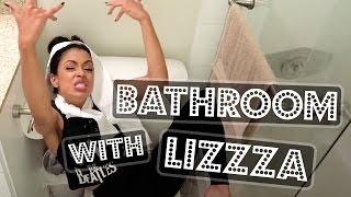 GIRLS DON'T POO!! BATHROOM WITH LIZZZA | Lizzza - YouTube