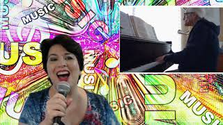 Download Lagu Anna Rammel sings Ja Da   Piano performance by Richard McKinney   lyrics in description Mp3