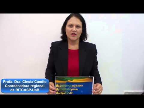 Campanha RITCASP Artigo 50 LRF Clesia Camilo