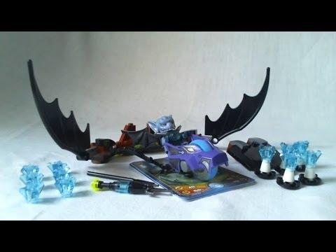Vidéo LEGO Chima 70137 : L'attaque de la Chauve-souris