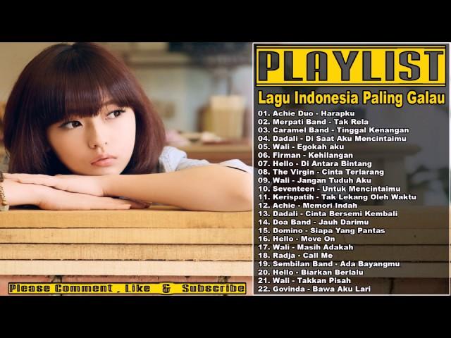 Lagu Populer Indonesia Tentang Sedih Dan Galau | 1000 ...