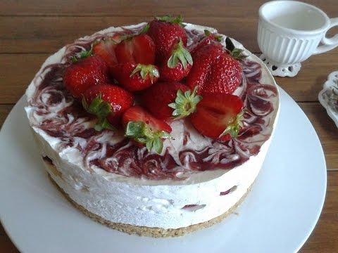 cheesecake alle fragole senza cottura: un metodo alternativo ma ottimo!