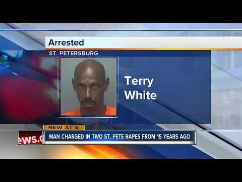 Clearwater man arrested after detectives match his DNA to 1999 and 2001 rape cases