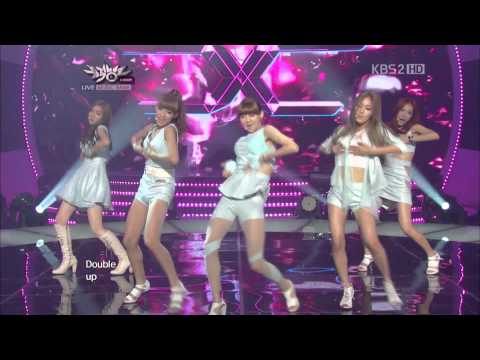 Download [HD] 120817 TWO X - Double Up Debut Stage HD Video