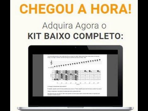 TOCAR BAIXO - APRENDA A TOCAR BAIXO - KIT BAIXO COMPLETO