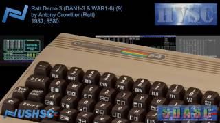 Ratt Demo 3 (DAN1-3 & WAR1-6) (9) - Antony Crowther (Ratt) - (1987) - C64 chiptune