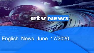 English News June 17/2020|etv