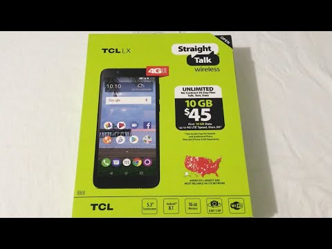 TCL LX Unboxing & First Look (Straight Talk)