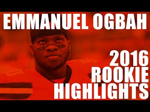 Emmanuel Ogbah 2016 Rookie Highlights | Cleveland Browns