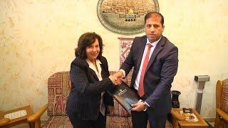 مجموعة الاتصالات الفلسطينية توقع اتفاقيات تعاون مع جمعية أصدقاء المريض والهلال الأحمر