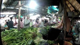 Kampong Cham Cambodia  City pictures : Kampong Cham Market, Cambodia