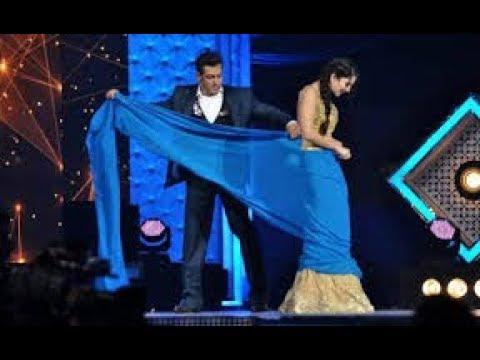 Salman Khan and sunny Leone in award show comedy