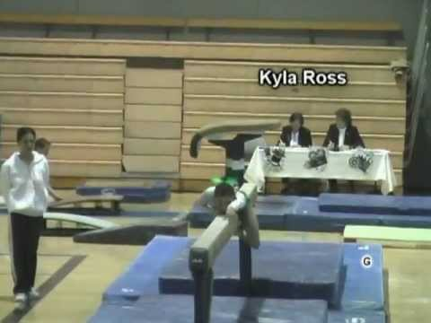 Before they were Olympians:  Kyla Ross and McKayla Maroney at the 2008 AOGC Invitational