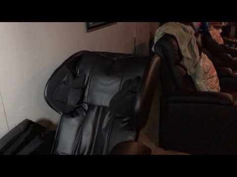 New Electric Full Body Shiatsu Massage Chair Recliner Zero Gravity W/Heat