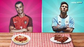 Video Jadi Ini Makanan Favorit Bintang Sepak Bola ● Ronaldo ● Messi ● Neymar ● Starting Eleven MP3, 3GP, MP4, WEBM, AVI, FLV Januari 2018